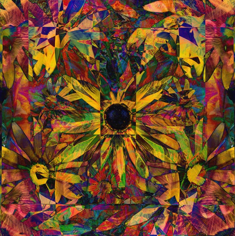 Autumn Mandala digital painting