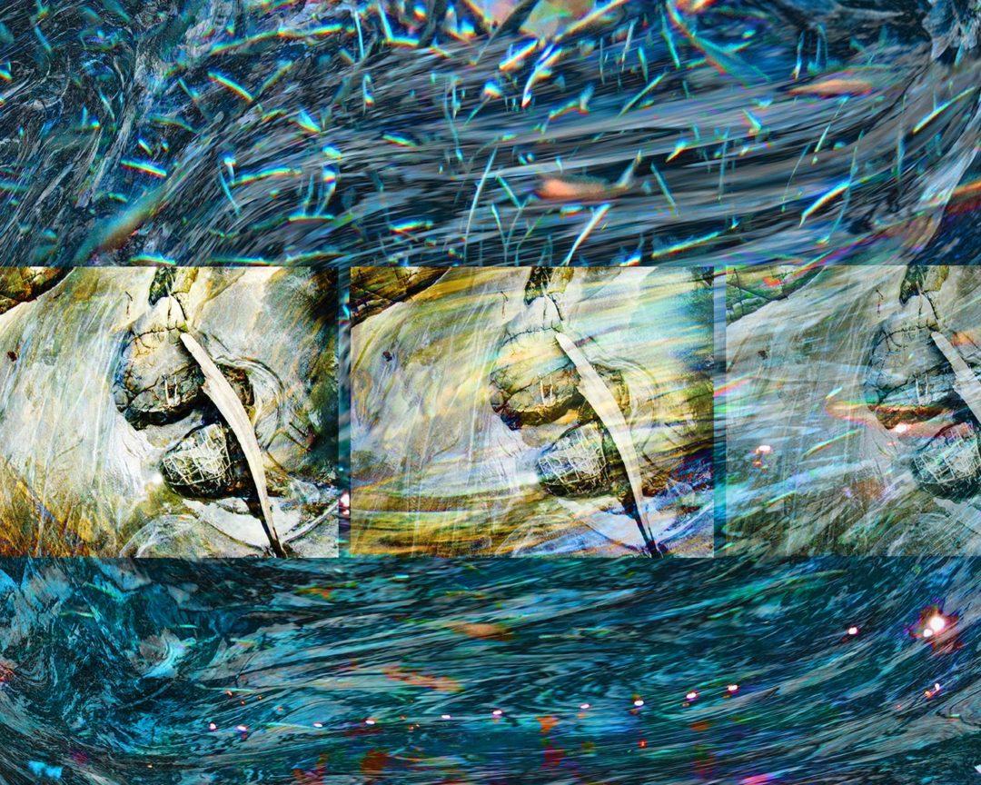 Oceanic Mixing: digital painting by Susan Harman